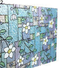45x100cm Orchid Window Film PVC Stained Glass Home Privacy Stickers Decor Noted