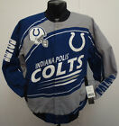 INDIANAPOLIS COLTS JACKET SENTINEL NFL FOOTBALL COTTON TWILL ANDREW LUCK WAYNE