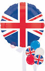 Great Britain Flag - Inflated Helium Balloon Delivered in a Box