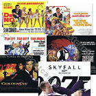 007 James Bond OFFICIAL 50 Years 50th Anniversary 2012 Quad Art Prints UK issue $12.06 AUD