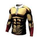 Mens One Punch Man Anime Pants T-shirt Trousers Jersey 3D Print Sweatpants Tee