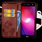 For LG Fiesta LTE/ K10 Power/ X Charge/ X Power 2 Leather Case Wallet Card Cover