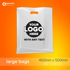 Printed Personalised Plastic  / Polythene Carrier bags