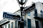 Bourbon Street Photography Print - Picture of Street Sign From French Quarter