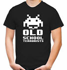 Old School Terrorists T-Shirt | Space Invaders | Gamer | Super Nintendo