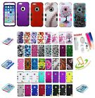 pebble phone - For Apple iPhone 5 5S SE Impact TUFF HYBRID Armor Rubber Rugged Case Phone Cover