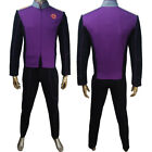 Mens the Orville uniform of Command Department cosplay Bortus halloween costume