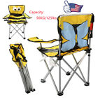 Kids Foldable Bee Armchair Beach Chair Camping Outdoor Indoor + Carrying Bag HM