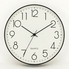 New Concise Noble Modern Hot May Time 12 Inch Fashion Wall Clock Home Decoration
