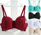 Uk Ladies Lace Lingerie Sexy Underwire Extreme Push Up Bra 34/6/8/40/42/44BCDDDE