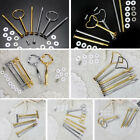 2 Or 3 Tier Plate Handle Fitting Hardware Rod Tool Cake Plate Stand US Flowery