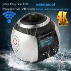Waterproof 360 Panoramic VR Camera 4K HD Sport Action Cam For Andriod iPhone OY