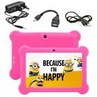 7  INCH KIDS ANDROID 4.4 TABLET PC HD QUAD CORE WIFI CHILDREN GIFT KITOCH UK
