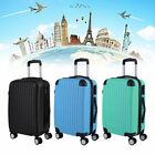 3 Color Luggage Set Travel Bag Trolley Spinner Suitcase W/Lock Rolling Wheels OY