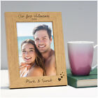 Our First Valentines PERSONALISED Engraved Photo Frame Gifts Valentines Day