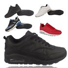 MENS RUNNING TRAINER BOYS GYM SHOCK ABSORBING AIR SPORT SHOE SIZE 7 8 9 10 11 12