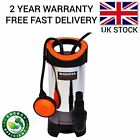 Dirty Water Submersible Pump Clean Electric Pond Flood 1100W Heavy Duty Sump