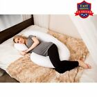 Total Body Pillow Pregnancy Maternity Comfort Support Cushion Sleep C-Shape OY image