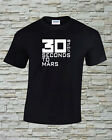 30 Seconds To Mars Printed T-Shirt Size, Print and Color Choice
