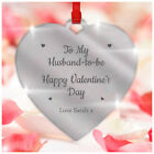 Personalised Valentines Day Gifts For Him Fiance Husband To Be Couples Heart