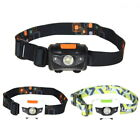300LM 4 Mode Outdoor Mini Headlight R3 + 2 LED Headlamp Head Torch Super Bright