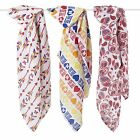 NEW Aden and Anais PRODUCT RED Swaddle Blanket Muslin Paisley Harajuku Arrows