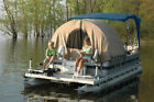 Boat Pontoon Zippered Enclosure Sun UV Shade Shelter Privacy Protection