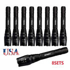 Tactical 20000Lumens XM-L T6 LED Flashlight Zoomable 5-Mode 18650 Torch Lamp AO