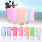 37/60/89ml Silicone Travel Portable Bottles Empty Lotion Shampoo Container