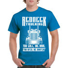 Shirt Redneck Trucking Mens T Funny Truck S Dad Humor Father Road Dust Gift