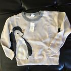Baby Gap Penguin Pullover Top Sweater NWT Msrp$34.95