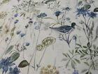 Wetlands Bird Saxon Blue Prestigious Textiles Curtain/Craft Fabric