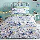 Bluezoo Blue 'Sharks' Bedding Set From Debenhams