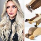 """Pre bonded Nano Ring Tip 100% Human Remy Hair Extensions Ombre 18"""" 20"""" 1g"""
