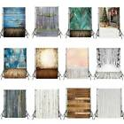 US Vintage Wood Plank Theme Photography Backdrops Vinyl Studio Photo Props 3x5ft