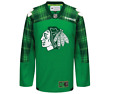 NHL Chicago Blackhawks St Patricks Day Hockey Jersey New Youth Sizes