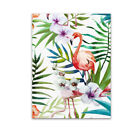 Flamingo Oil Art Canvas Wall Picture Home Office Print Poster Wall Decor Unframe