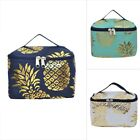Gold Pineapple NGIL® Cosmetic Bag Case Gold Collection