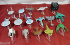 STAR TREK Micro Machines Collectable Plastic Model Star-Ships With Stands Choose