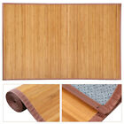 Natural Bamboo Area Rug Floor Carpet Bamboo Wood Indoor Outdoor Non-Slip Rug New