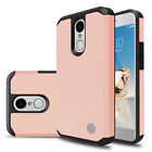 For LG Aristo/MS210/M210/K8 2017 Hybrid Rubber Armor Phone Case+Screen Protector