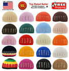 KUFI Crochet Beanie Skull Cap Knit Hat Muslim Islamic Prayer New 100 Cotton