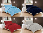 2/3PC Solid Reversible Stitched Quilted Down Alternative Light Weight Bed Cover  image