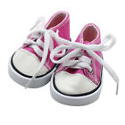 Canvas Lace Up Sneakers Shoes For 18 inch American Girl & Boy Dolls