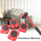 Heavy Furniture Shifter Lifter Wheels Moving Kit Slider Mover Table Sofa Removal