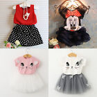 Baby - Toddler Kids Baby Girls Outfits Clothes T-shirt Tops + Tutu Dress Skirt 2Pcs Set
