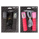 Kids Adults Skipping Rope With Counter Handle Jump Fitness Gym Exercise Workout