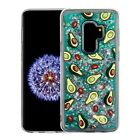 Samsung GALAXY S9 /Plus Bling Hybrid Liquid Glitter Rubber Protective Case Cover