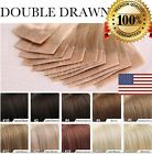 skin weft hair extensions - US STOCK 7A Brazilian Tape In 100% Human Hair Extensions 100% Skin Weft