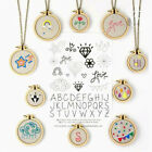 Внешний вид - Mini Wooden Cross Stitch Hoop Ring Embroidery Circle Sewing Kit Frame Craft